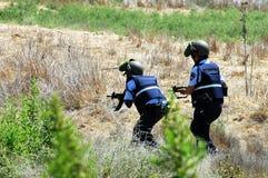 Αστυνομία του Ισραήλ Στοκ φωτογραφία με δικαίωμα ελεύθερης χρήσης