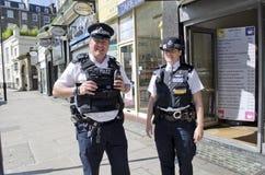 Αστυνομία του Λονδίνου Στοκ Εικόνες