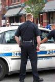 αστυνομικοί κινηματογρ&a Στοκ φωτογραφία με δικαίωμα ελεύθερης χρήσης