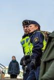 Αστυνομικός και γυναίκα αστυνομίας Στοκ Φωτογραφίες