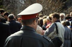 αστυνομικός μαζικής συν&e Στοκ φωτογραφία με δικαίωμα ελεύθερης χρήσης