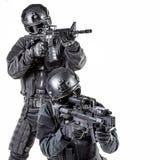 Αστυνομικός SWAT προδιαγραφών ops Στοκ Εικόνα