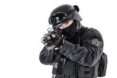 Αστυνομικός SWAT Στοκ Εικόνες