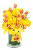 Ασυμμετρική κίτρινη ανθοδέσμη Στοκ Εικόνα