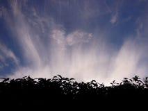 Ασυνήθιστος σχηματισμός σύννεφων στοκ εικόνες