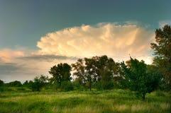 Ασυνήθιστο σύννεφο στοκ φωτογραφίες με δικαίωμα ελεύθερης χρήσης