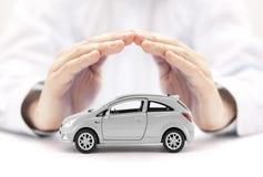 ασφάλεια έννοιας αυτοκινήτων ανασκόπησης που απομονώνεται πέρα από το λευκό Στοκ φωτογραφία με δικαίωμα ελεύθερης χρήσης