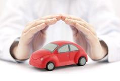 ασφάλεια έννοιας αυτοκινήτων ανασκόπησης που απομονώνεται πέρα από το λευκό Στοκ εικόνες με δικαίωμα ελεύθερης χρήσης