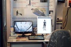 ασφάλεια ανίχνευσης σωμά Στοκ φωτογραφίες με δικαίωμα ελεύθερης χρήσης