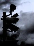 ασφάλεια απεικόνισης απαίσια Στοκ εικόνες με δικαίωμα ελεύθερης χρήσης