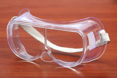 ασφάλεια γυαλιών Στοκ φωτογραφίες με δικαίωμα ελεύθερης χρήσης