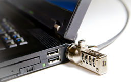 ασφάλεια δεδομένων υπολογιστών Στοκ Εικόνες