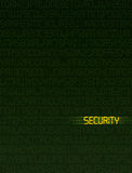 ασφάλεια δεδομένων Στοκ εικόνα με δικαίωμα ελεύθερης χρήσης