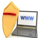 ασφάλεια Διαδικτύου απεικόνιση αποθεμάτων