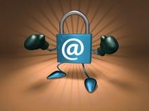 ασφάλεια Διαδικτύου διανυσματική απεικόνιση