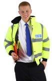 ασφάλεια εκμετάλλευσης φρουράς περιοχών αποκομμάτων Στοκ Εικόνες