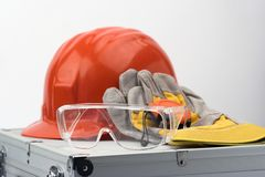 ασφάλεια εργαλείων Στοκ Φωτογραφίες