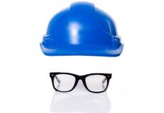 ασφάλεια καπέλων γυαλιών Στοκ φωτογραφία με δικαίωμα ελεύθερης χρήσης