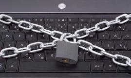 ασφάλεια κλειδωμάτων υπ Στοκ Εικόνες