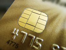 Ασφάλεια πιστωτικών καρτών Στοκ φωτογραφίες με δικαίωμα ελεύθερης χρήσης