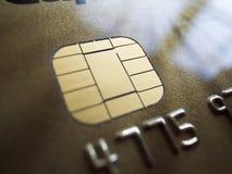 Ασφάλεια πιστωτικών καρτών Στοκ εικόνα με δικαίωμα ελεύθερης χρήσης