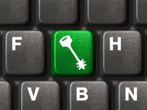 ασφάλεια πληκτρολογίων Στοκ Φωτογραφία
