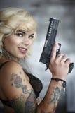 ασφάλεια πυροβόλων όπλων Στοκ φωτογραφίες με δικαίωμα ελεύθερης χρήσης