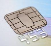 ασφάλεια τραπεζικών καρτ Στοκ Φωτογραφία