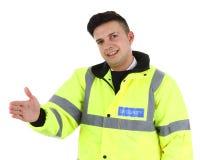 ασφάλεια φρουράς Στοκ εικόνα με δικαίωμα ελεύθερης χρήσης