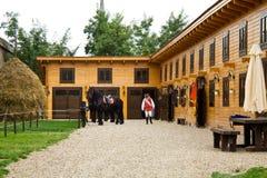 ασφάλεια φρουρών οικοδόμησης Στοκ Εικόνες