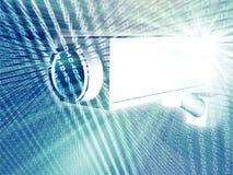 ασφάλεια φωτογραφικών μηχανών απεικόνιση αποθεμάτων