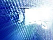 ασφάλεια φωτογραφικών μηχανών ελεύθερη απεικόνιση δικαιώματος