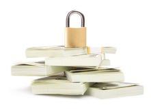 ασφάλεια χρημάτων Στοκ εικόνες με δικαίωμα ελεύθερης χρήσης