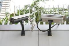 ασφάλεια CCTV εκκέντρων Στοκ Εικόνα