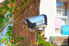 ασφάλεια CCTV φωτογραφικών μηχανών Διανυσματική απεικόνιση