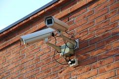 ασφάλεια αφθονίας φωτογραφικών μηχανών copyspace Στοκ Φωτογραφία