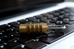 Ασφάλεια δεδομένων υπολογιστών στοκ φωτογραφία με δικαίωμα ελεύθερης χρήσης