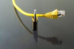 Ασφάλεια δικτύων Στοκ Φωτογραφία