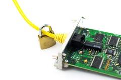 Ασφάλεια δικτύων Στοκ Εικόνα