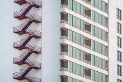 Ασφάλεια του υψηλού κτηρίου Στοκ εικόνα με δικαίωμα ελεύθερης χρήσης