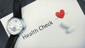 Ασφάλεια υγείας και φωτογραφία έννοιας προσοχής Στοκ Εικόνες