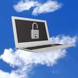 Ασφάλεια Διαδίκτυο προγραμματισμού υπολογιστών Στοκ φωτογραφία με δικαίωμα ελεύθερης χρήσης