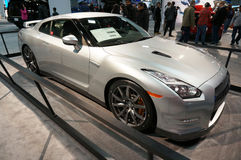 Ασφάλιστρο της Nissan GT-ρ Στοκ Εικόνες