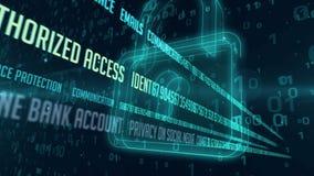 Ασφαλής πύλη Διαδικτύου απεικόνιση αποθεμάτων