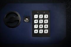 Ασφαλές κιβώτιο στο δωμάτιο ξενοδοχείου στοκ εικόνες με δικαίωμα ελεύθερης χρήσης