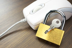 Ασφαλές ξεφύλλισμα Διαδικτύου. Στοκ φωτογραφία με δικαίωμα ελεύθερης χρήσης
