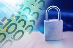 Ασφαλής τεχνολογία πληρωμής Στοκ εικόνες με δικαίωμα ελεύθερης χρήσης
