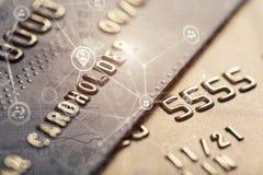 Ασφαλής τραπεζική κάρτα αγορών Διαδικτύου Στοκ εικόνα με δικαίωμα ελεύθερης χρήσης