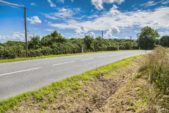 ασφαλτωμένος δρόμος αγρ&om Στοκ Φωτογραφίες