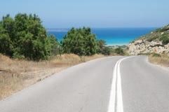 ασφαλτωμένος δρόμος στοκ εικόνα με δικαίωμα ελεύθερης χρήσης